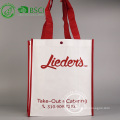 Recyclable custom pp nonwoven advertising shopping bag