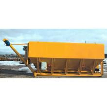Silo de ciment mobile horizontal