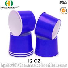 12 oz descartável papel tigela de sopa, sopa de copo de papel (12oz-1)