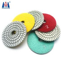 4 Polishing Pads for Sandstone