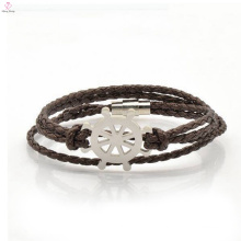 OEM Helm Leather Bracelet With 316L Stainless Steel