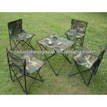 Sillas de Camping plegables y mesas de juego