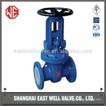 Self sealing gate valve