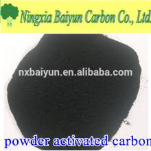 carbono metileno 15 carvão ativado em madeira em pó para indústria açucareira