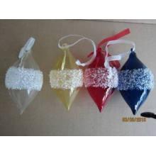 Подвеска конуса цвета стекла на Рождество