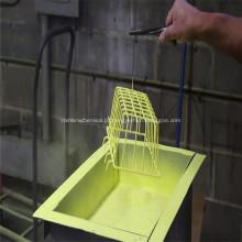 Pó de cor à base de PVC antiestático para tinta spray