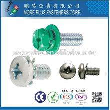 Taiwan M1.0-6.0 MPF tornillo de combinación electrónica con arandela SEMS Tornillos