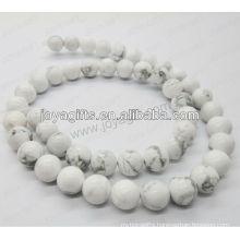 Howlite round beads/4mm/6mm/8mm/10/mm/12mm grade A