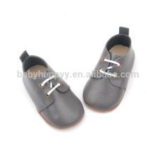 Al aire libre bebé prewalker zapatos de cuero al por mayor bebé vestidos