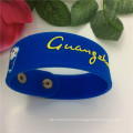 Hot Sell Cheap Custom Injection Silicone Rubber Fashion Bracelet