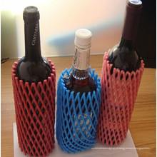 Fábrica de plástico China Promoção High Grade Garrafa de Vinho Protective Foam Sleeves Net