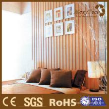 Painel de parede Eco-Friendly WPC, um melhor plano de fundo para o quarto.
