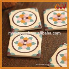 Imprimé de motif vintage personnalisé pour décoration