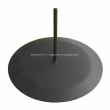 Base ronde de séparation de séparation de pièce fixe d'écran de bureau