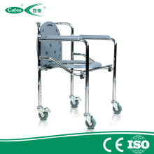 Medical Aluminum Folding Bath Wheelchair Commode Chair