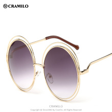 Hot selling round fashion cool women sunglasses