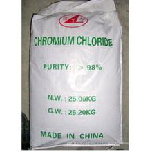 Темно-зеленый кристаллический 98% хлористый хром для промышленного применения