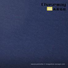 50s 70% Coton 30% T400 Tissu en coton élastique en tissu Pique