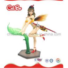 Lovely Girl Plastic Figur Spielzeug (CB-PF018-S)