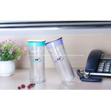 Hiqh Quality Colorful Plastic Travel Mug