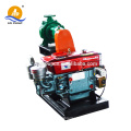 portable diesel engine irrigation water pump and trailer