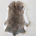 White Rabbit Fur Pelt Tanned rabbit hide Craft Fur