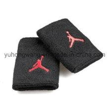 Algodón de alta calidad Terry Sports Wristband / Headband