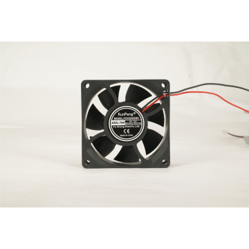 12/24V  Sleeve/Ball Bearing Black DC Cooling Fan