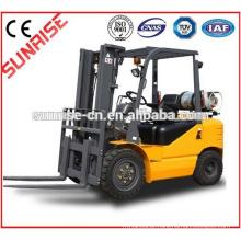 Baixo preço 1T-5T Gasolina LPG CNG Empilhadeira