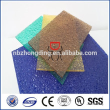 UV coating competitive embossed PC sheet price