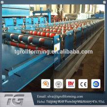Китай Поставщик Оцинкованная сталь Трапециевидный профиль Холодногнутая стальная крыша