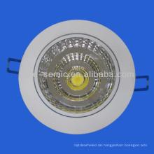 China Hersteller beste Qualität COB 5w, 7w führte Downlight