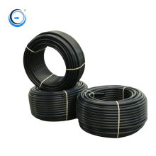 small diameter black color composite irrigation pe pipe  for water supply