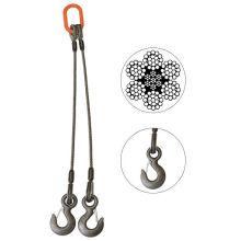 Два-Нога Уздечку Механически Сплайсированные Слинг Веревочки Провода