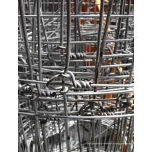 Clôture en bois à noeuds à charnière galvanisée / clôture de bovins / clôture de mouton