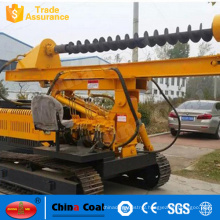 Auger Drilling Rig Screw Pile Driver Small Crawler Hydraulic Pile Driving Machine