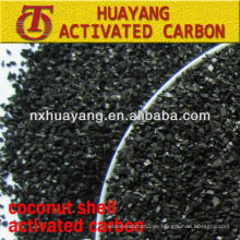 Iodwert 1100 mg / g Kokosnussschalen-Aktivkohle für die Pharmaindustrie
