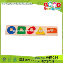 new china products for sale educational toys wooden shape puzzle