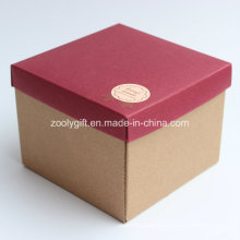 Handmade Corrugated Paper Gift Packing Boxes for Cup