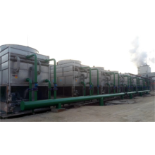 Closed circuit water cooling tower double air inlet