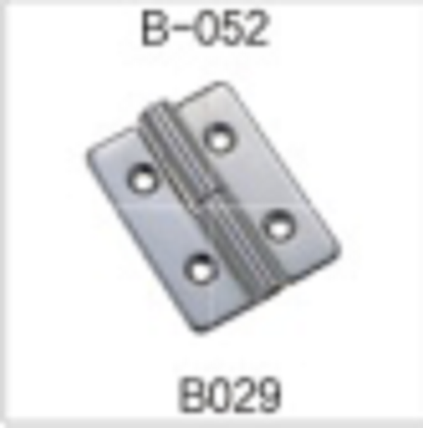 Adjustable Stainless Steel Hinge for C Groove