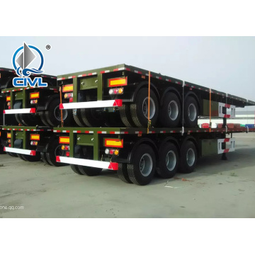 Truk Kontainer Semi Trailer 3 AXLES