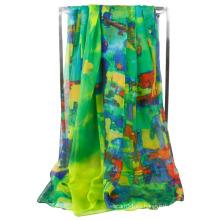 Chaleco hermoso de la bufanda del abrigo suave de la gasa de las nuevas mujeres de la manera