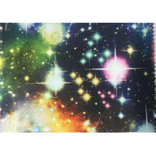 900d Polyester Printed Starry Sky Fabric with PU Coating