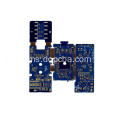 4Layers Blue Solder Mask Flex Flex PCB Board