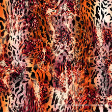 Fantasia Digital Impresso Malha Camisa Jersey para Swimwear (ASQ065)