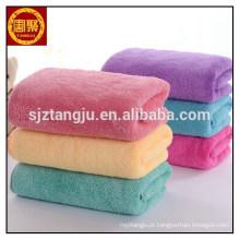 Micro fibra coral toalha de lã, Novo estilo duas faces coral velo ultra fino microfibra toalha de limpeza da casa