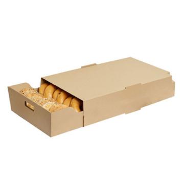 Kraft Paper Bento Lunch Box Cajas De Carton Biodegradable Deli Sushi Food Delivery Box Embalagems De Papel Food Containers Box