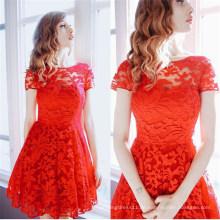 Gute Qualität elegante sexy Mädchen Kleid (50168)