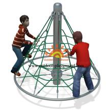 Zona de juegos de escalada suave independiente para niños